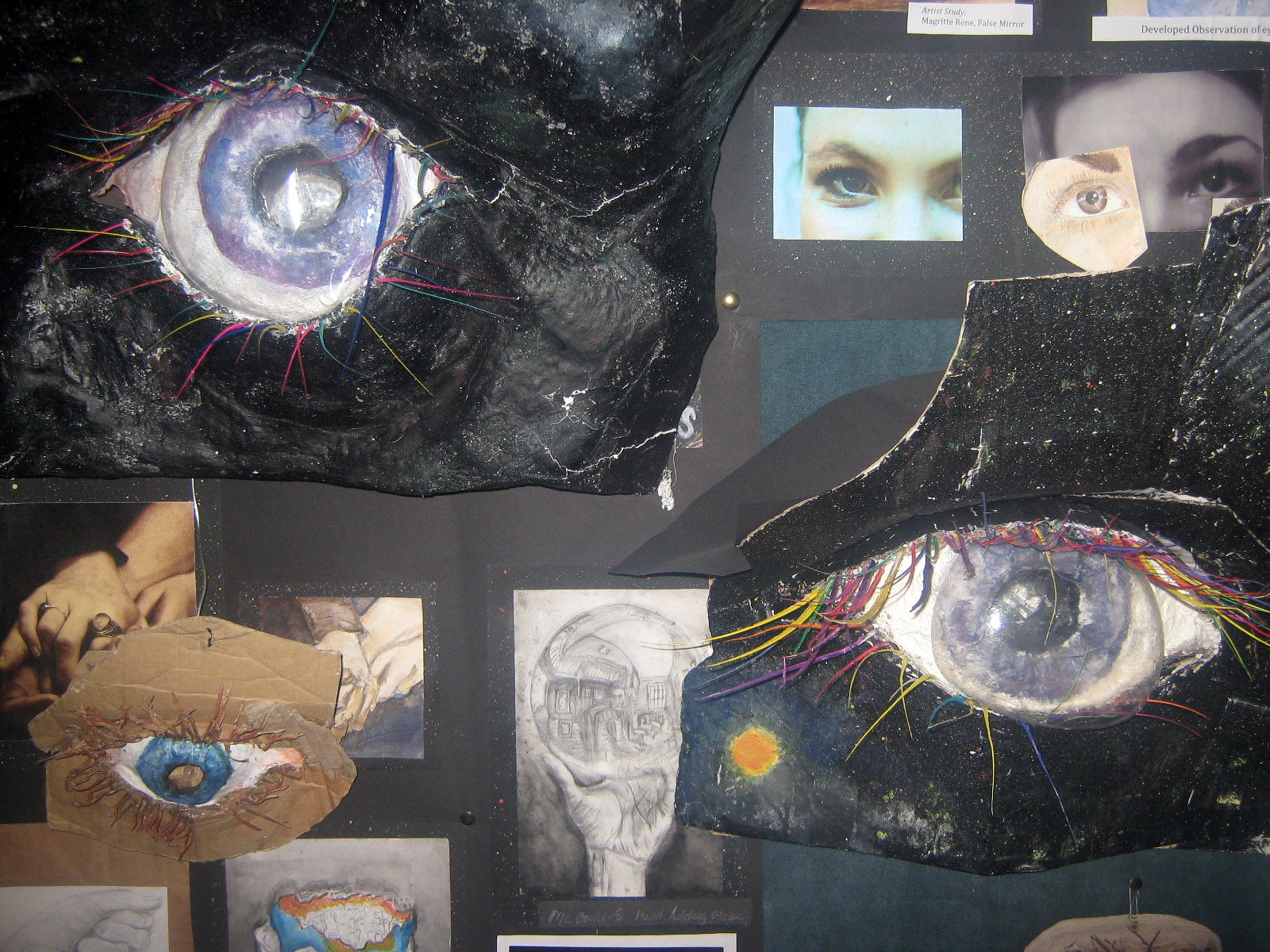 A selection of Year 11 Art Coursework
