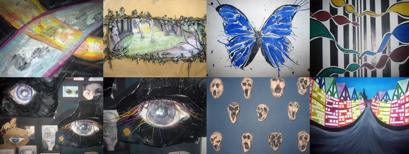 Art 2013 Coursework by Year 11