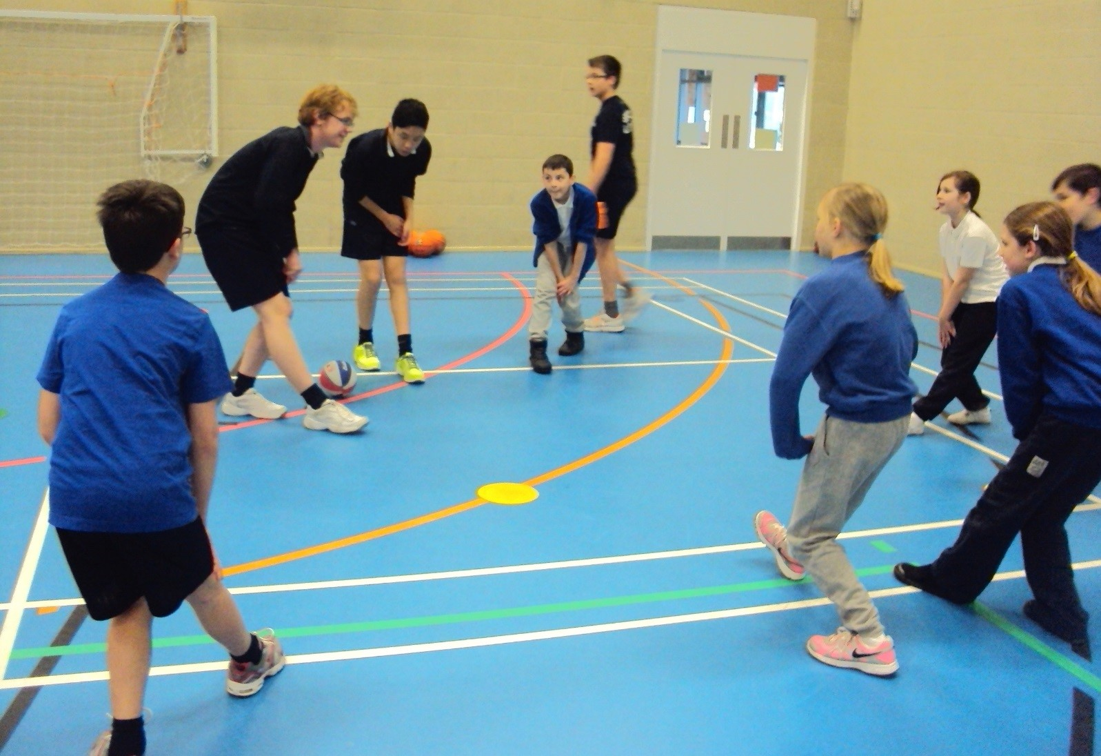 Test Valley School Mdash Sports Leaders Ks2 Basketball
