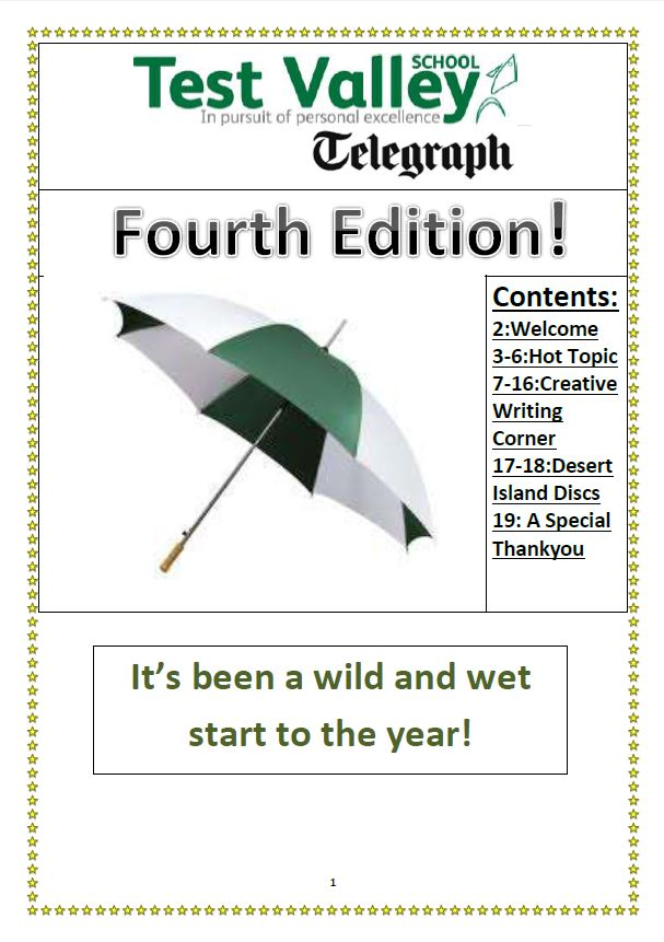 Test Valley Telegraph: Fourth Edition