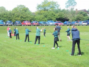 Golf Taster Day 'Fore' Year 7 pupils