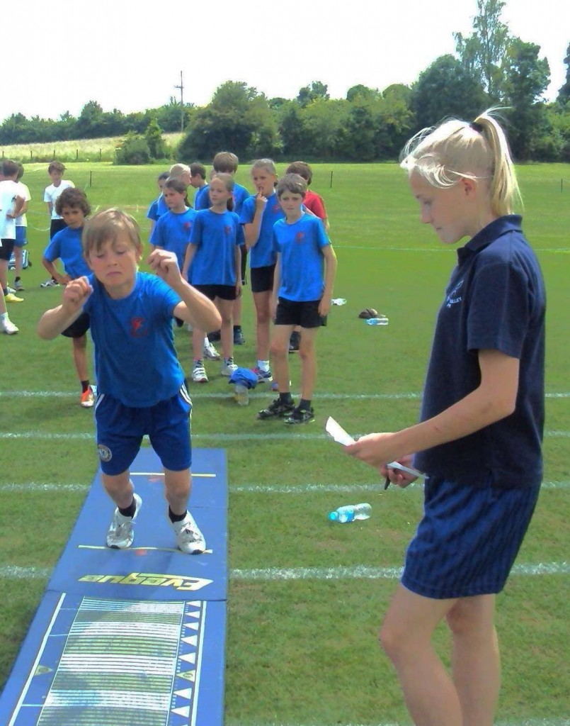 Young Leaders at Area Athletics