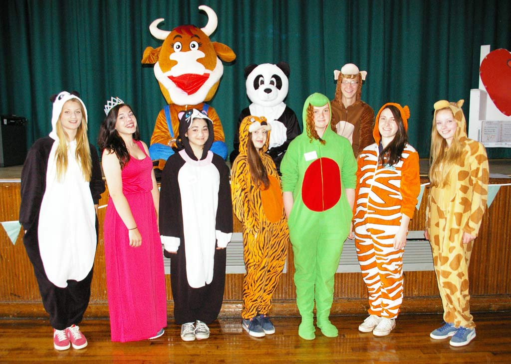 Sports Leaders in animal onesies