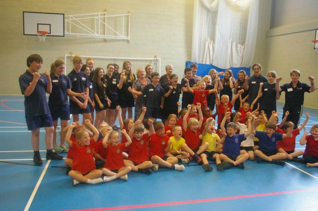 The Dance Festival was another success for the Young and Sports Leaders and they all lived happily ever after…