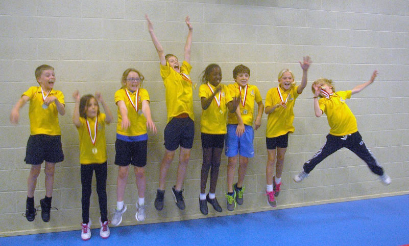 Wallop, the overall winners of the eevnt