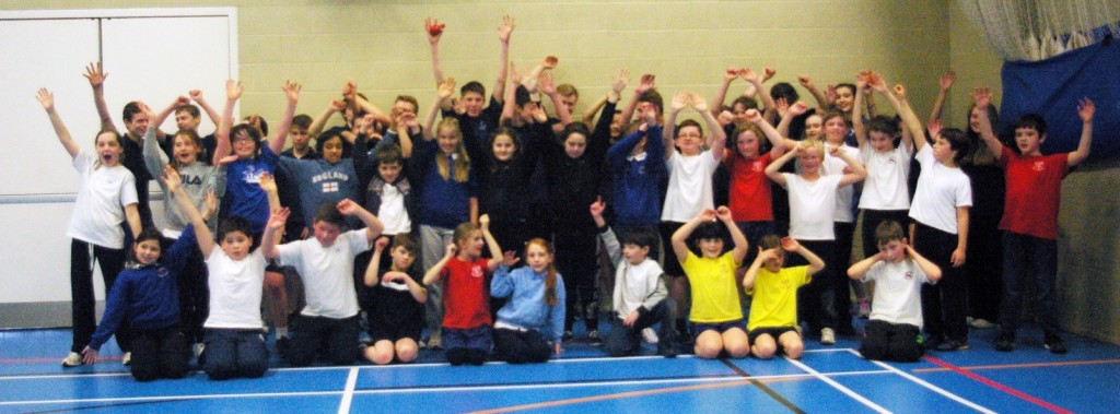 Wherwell and King's Somborne Primary Schools were able to attend this event and developed their basic basketball skills of shooting, dribbling and passing.