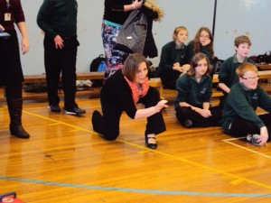 Mrs Wingham had an impressive technique showing all the qualities of a professional.