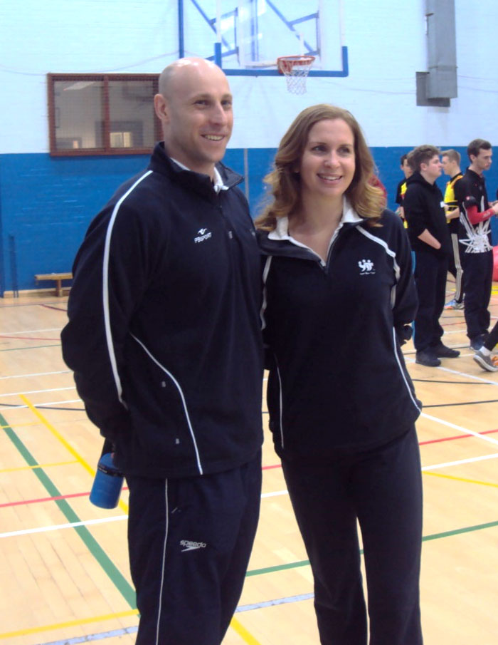 The opening ceremony included 2 'Elite' Athletes Paralympian Kate Grey and Olympian Craig Figes who were there to inspire the Leaders during the day and talk about their own experiences.