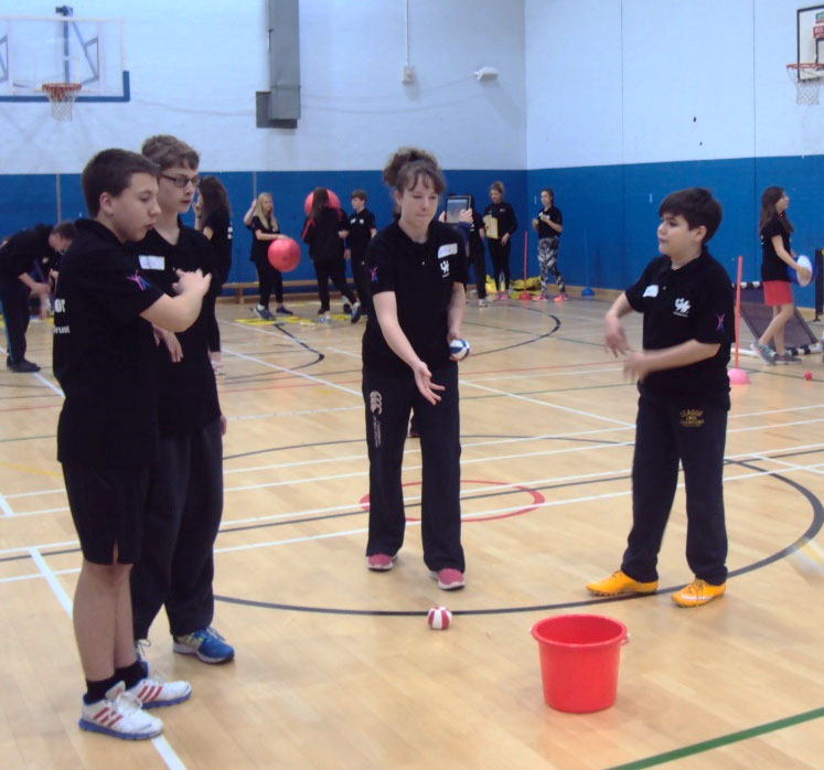 Young Sports Ambassadors Practical Session 1