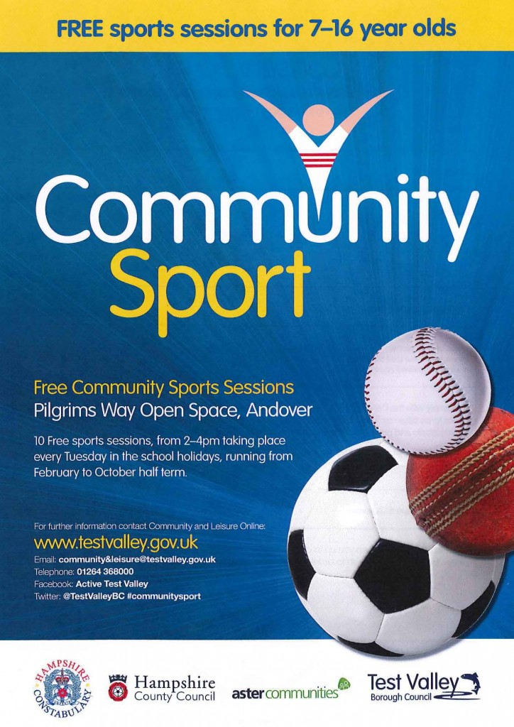 Community Sport -- Free Community Sports Sessions