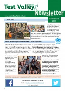 Newsletter Summer Term July 2015 web front page