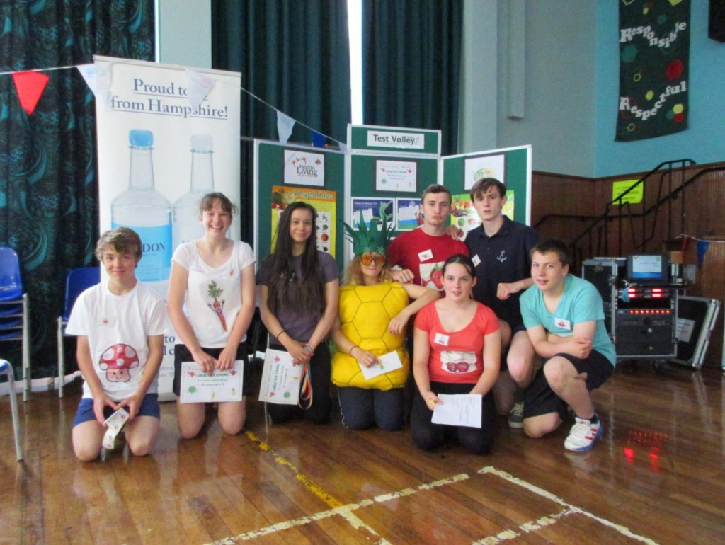 Sports Leaders from Test Valley School
