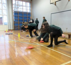 New Age Kurling with Y8 Young Sports Leaders