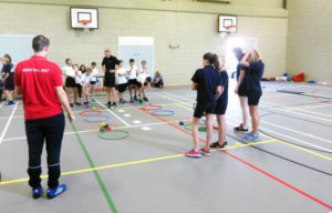 Primary Schools' Indoor Spots Hall Athletics Challenge