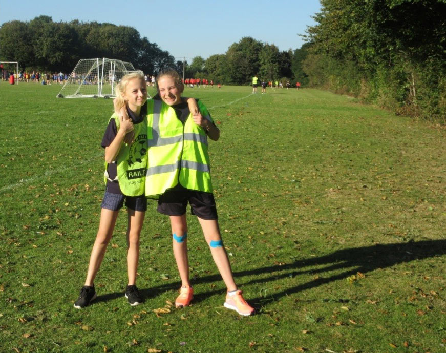 Year 8 Young Leader Marshals
