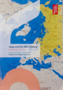 British Library trip -- Mapping the 20th Century