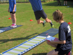 Primary School Athletics at Kings' Somborne Recreation Ground