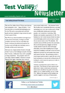 Newsletter Summer Term 2017