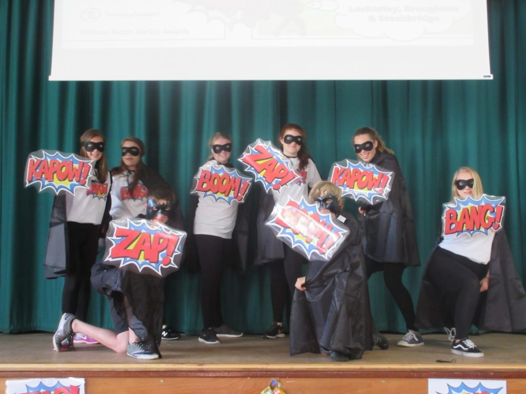 Dance festival: TVS Sports Leaders as superheroes
