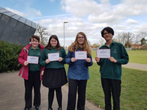 Regional Maths Challenge Finalists