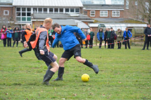 Staff Welly Football Match