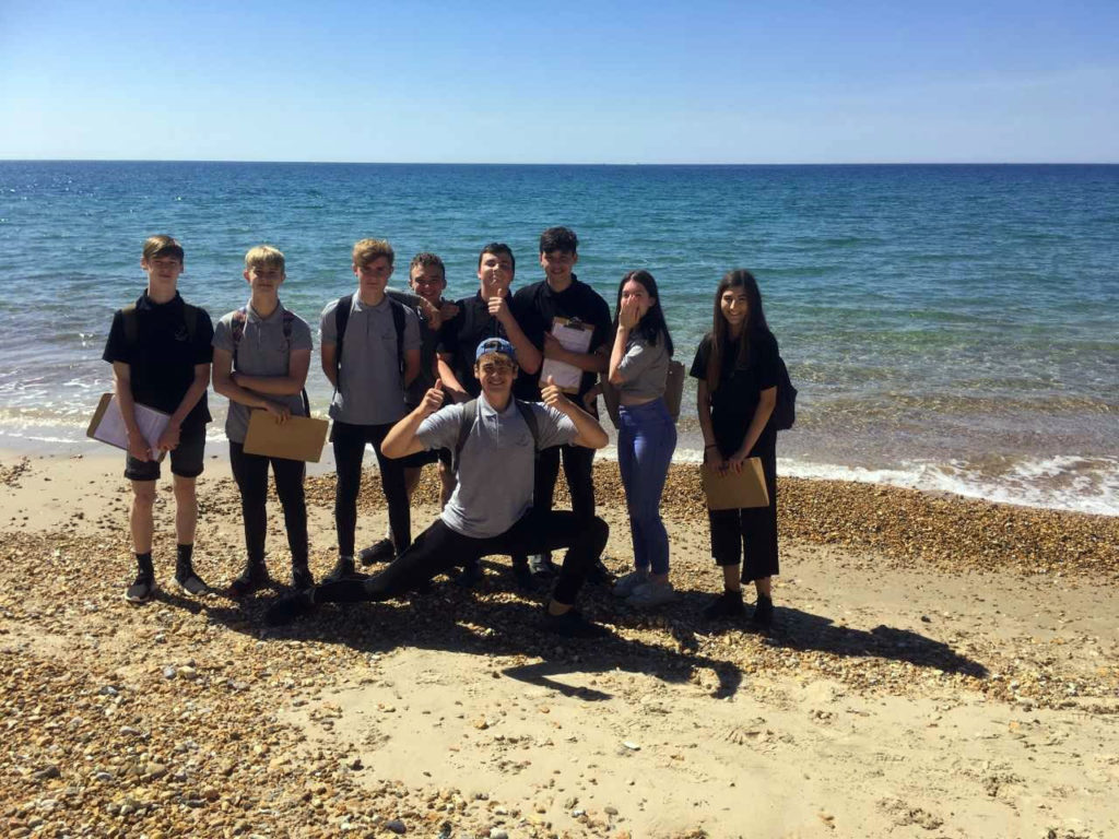 Year 10 Geography Visit to Hengistbury Head