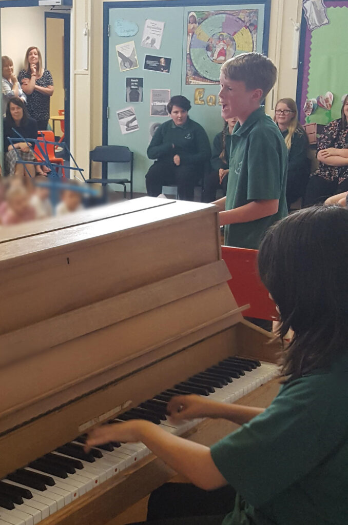 A Musical Afternoon at Clatford School